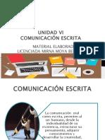 UNIAD 6  COMUNICACIÓN ESCRITA (1).pptx