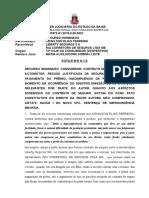 Ri 0007972-81.2015.8.05.0001 Voto Ementa Consumidor Seguro Veículo Recusa Justificada Inadimplemento Improcedência