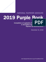 National Taxpayer Advocate 2019 Purple Book