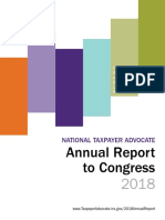 National Taxpayer Advocate Annual Report to Congress 2018 Volume 2