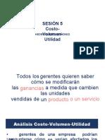 Sesión Analisis Del Costo Volumen Utilidad