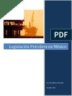 Legislación Nacional de Hidrocarburos en Mexico