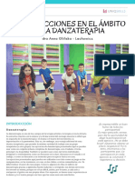 guía Danzaterapia