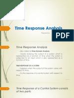 Time Response Analysis