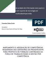 MAPEAMENTO E ADEQUAÇÃO DE COMPETÊNCIAS