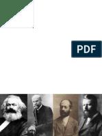 Padres de la sociología moderna