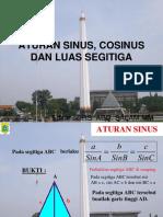 Aturan Sinus, Cosinus Dan Luas Segitiga.ppt