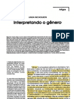 NICHOLSON, Linda. Interpretando o gênero.pdf