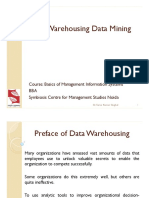 4 Data Warehousing Data Mining