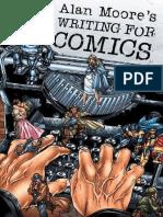 Apostila Alan Moore Como Escrever Quadrinhos