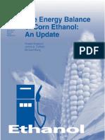 The Energy Balance of Corn Ethanol, An Update (USDA, 2002) -- Aer-814