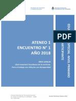 1.1.a. Anexo 1 Ateneo Didáctico N° 1 Encuentro 1 Primaria Lengua Primer Ciclo Docentes