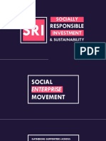 Lesson 13 - Socially Responsible Investment (SRI) and Sustainability