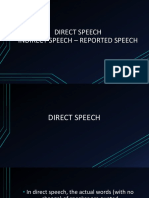 DIRECT INDIRECT SPEECH GARDE XI.ppt
