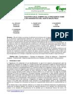 CIGRE Espectroscopia Dielectrica FDS