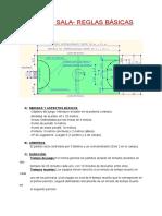 Fútbol Sala- Reglas Básicas