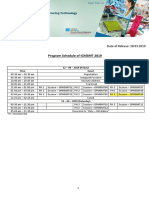 ICMSMT Program Schedule