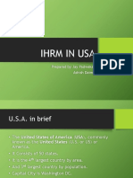 ihrm in us