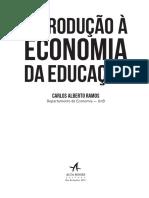Economia da Educação - Intro
