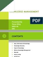 knowledge management ppt