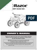 Dirt quad