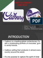Project on Cadbury