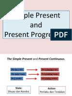 Simple Present & Present Progressive