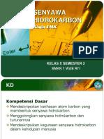 Senyawa Hidrokarbon