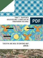 ARTS- ARALIN 1 Landscape Ng Pamayanang Kultural