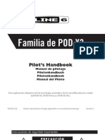 POD X3 User Manual (Rev a) - Spanish