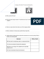 Data Storage - Worksheet (Gr 10)