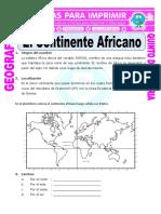 El Continente Africano Para Quinto de Primaria