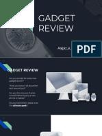 Gadget Review.pptx