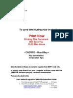 Caepipe Roadmap