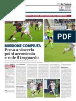 La Provincia Di Cremona 14-04-2019 - Missione Compiuta