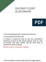 Consultants Client Relationship