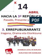 Cartel 14 Abril