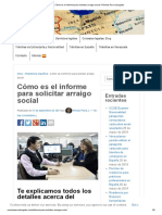 Cómo Es El Informe Para Solicitar Arraigo Social. Rómulo Parra Abogado