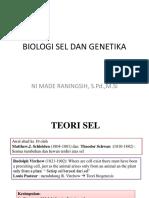 Biologi Sel Dan Genetika (Idki)