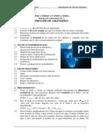 Lab. 2 Principio de Arquimedes