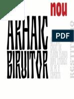 Arhaic biruitor 3