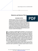 Dialectics and Systems Theory