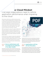 Adopting cloud mindset