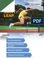 Analyst Meet Presentation Q1 FY11 n