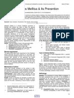 Diabetes Mellitus & Its Prevention.pdf