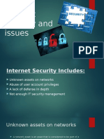 Internet Security and Issues