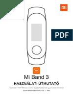 Xiaomi Mi Band 3 Manual Wayteq Hu
