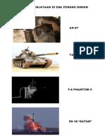 Alat Persenjataan Era Perang Dingin