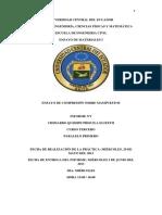Informe Nº1 Ensayo de Materiales