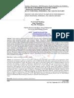 Pengaruh Tingkat Pendidikan Dan Pelatihan Terhadap Kinerja Karyawan Pada Pt. Bank Rakyat Indonesia (Persero), Tbk Cabang Manado